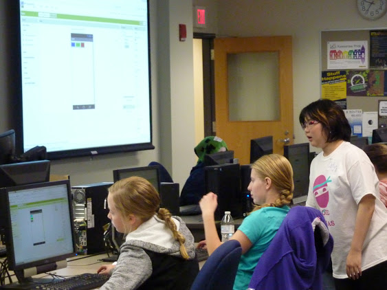 A Code Ninja Workshop held at Michigan Technological University.